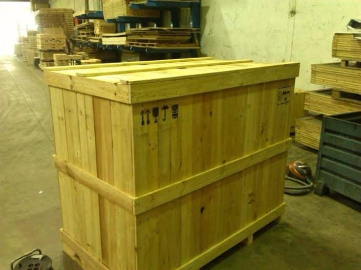cajas de embalaje terrestre