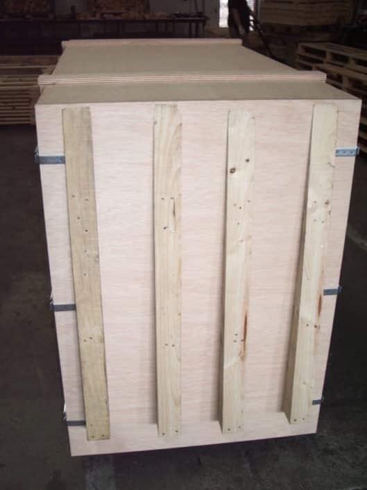 cajas de madera transporte