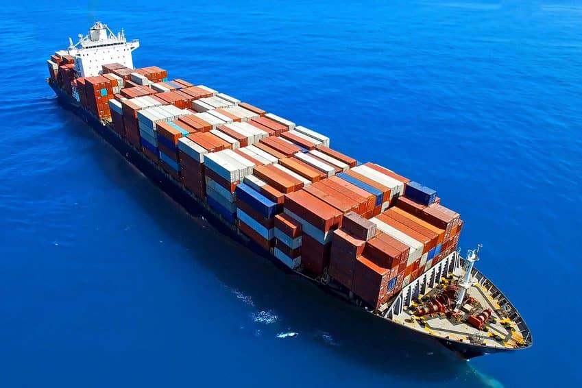embalaje marítimo