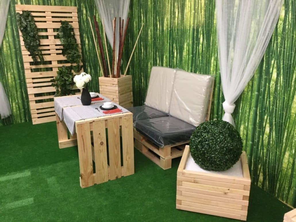 Venta de muebles hechos con Palets - Embalajes Nicolás