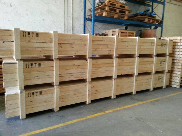 cajas de madera embalaje a medida