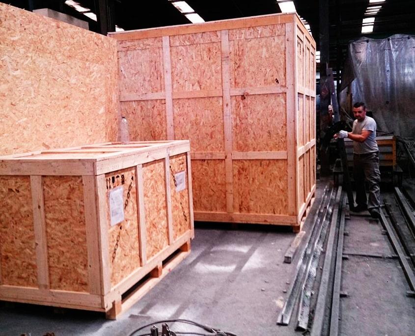 cajas de madera para exportacion