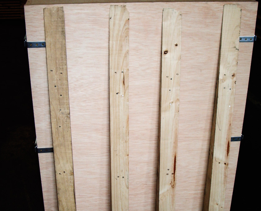 caja de madera embalaje industrial