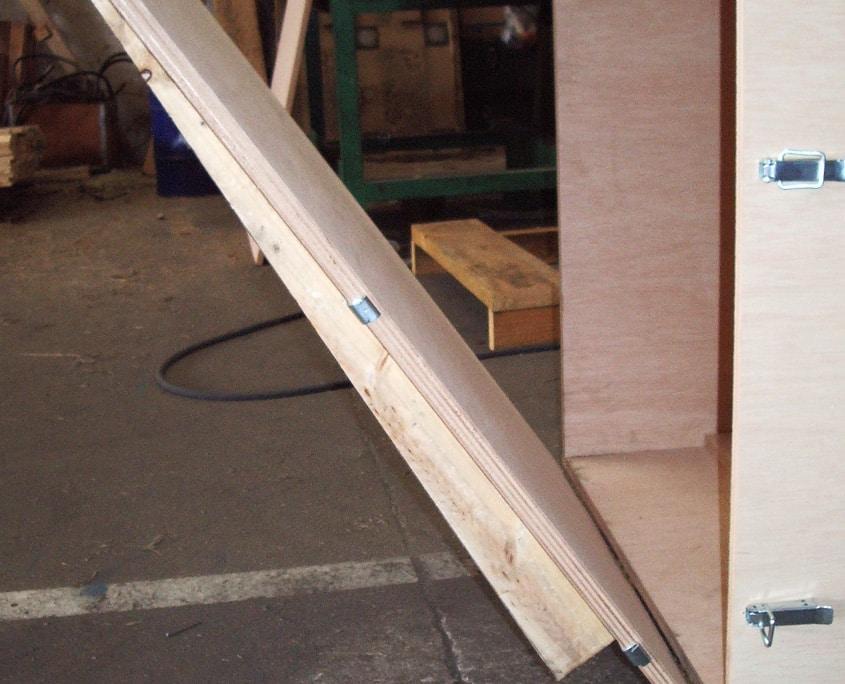 cajas de embalaje de madera para transporte