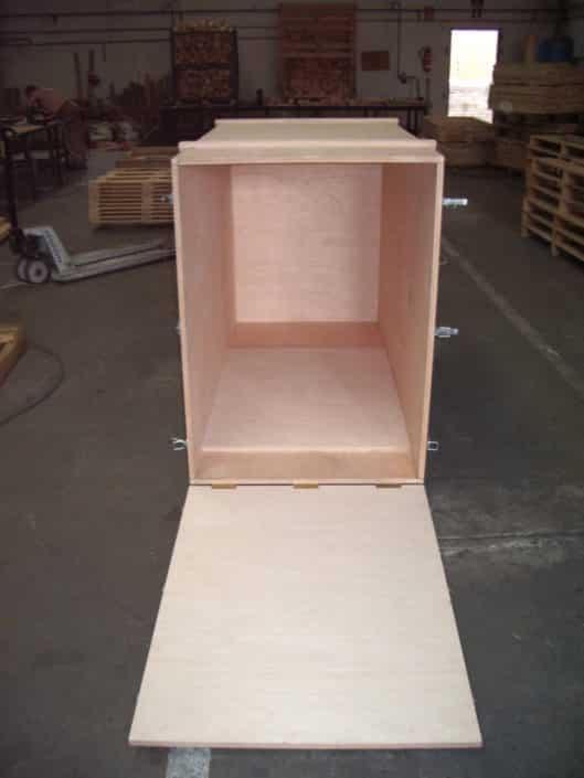 cajas de madera para embalaje