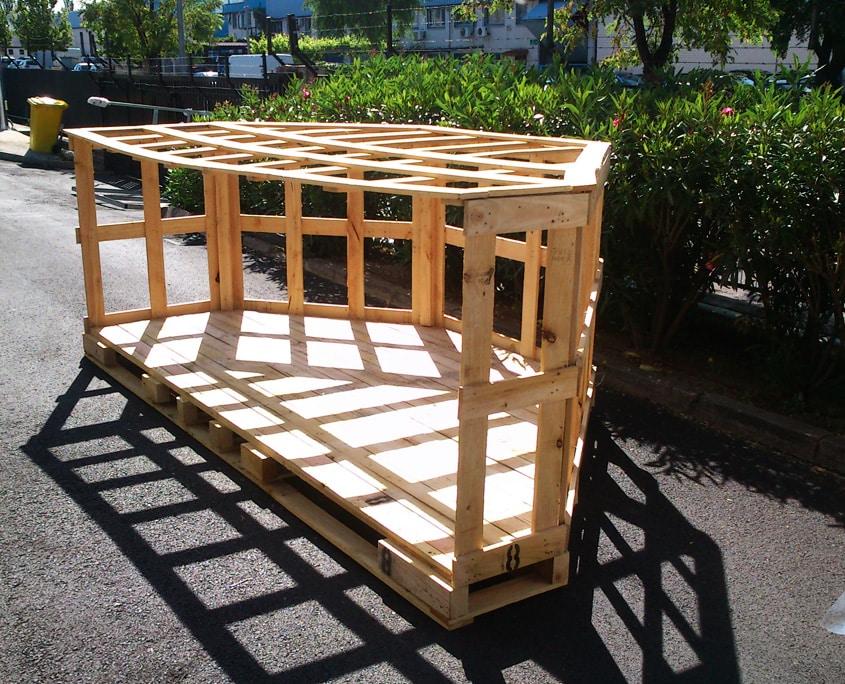 diseño de embalajes de madera