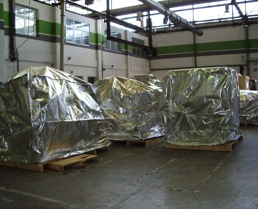 embalaje aluminio termosellable