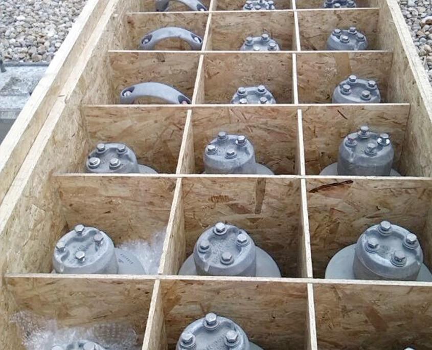 embalaje de madera para maquinaria