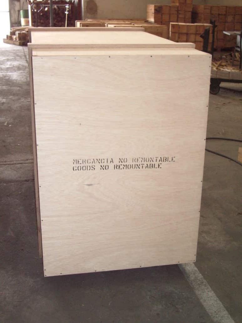 Cajas de embalaje de madera embalajes nicol s - Madera a medida ...