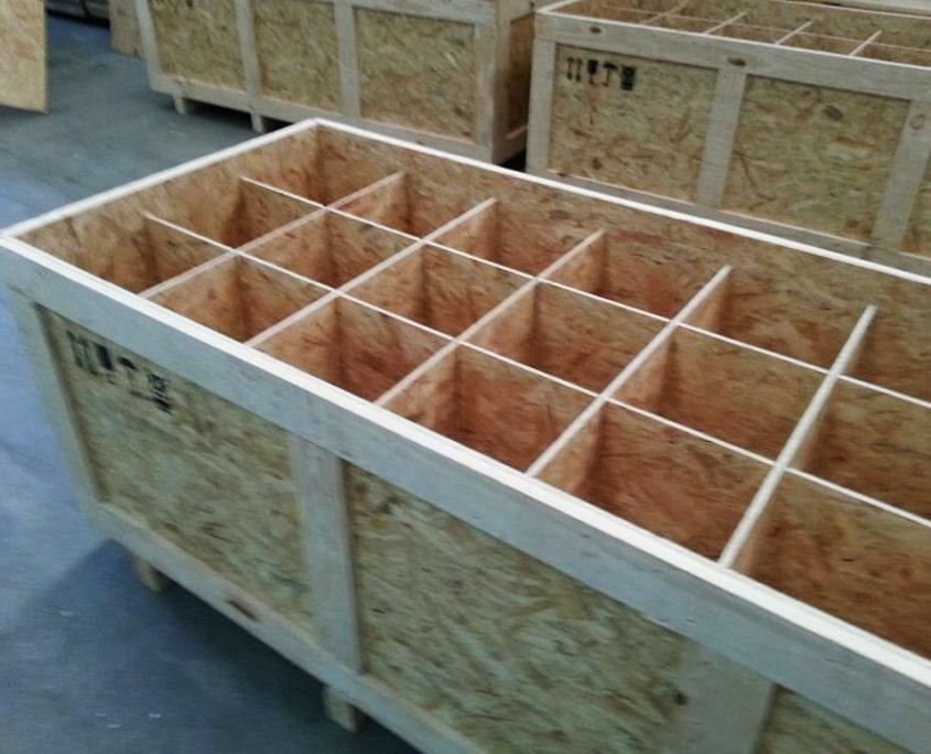 fabricación cajas madera embalaje