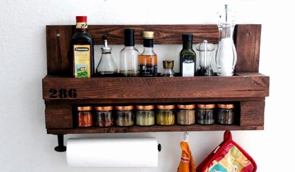 10 ideas para hacer estanter as con palets embalajes nicol s - Estanterias para cocina ...