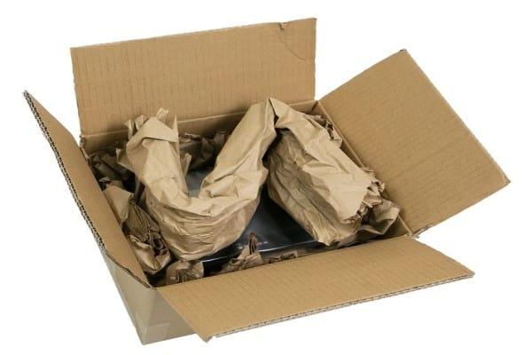 Sistemas de relleno con papel para embalaje